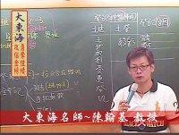 ★大東海→104年度→土地登記 精修→新班開課→大東海名師→陳翰基 教授
