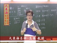 ★大東海→104年度→『運輸學』→焦點題庫菁英班→大東海王牌名師→高強 教授
