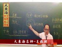 ★大東海(106年)→『公民』精修→新班開課→「大東海」首席名師→「王羲之」 教授!
