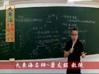 ★大東海→109、110年→『民法』→經典試題~解析班→大東海領袖名師→蕭友銘 教授!
