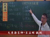 ★大東海(109、110年)→『企業管理』精修→新班開課→大東海天王名師→王立明 教授!